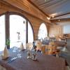 Restaurant Chesa Grischa in Sils-Baselgia im Engadin (Graubünden / Maloja / Distretto di Maloggia)]