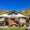 Restaurant Alp Muottas  in Samedan  (Graubünden / Maloja / Distretto di Maloggia)]