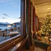 Restaurant Lobby und Sonnenterasse, St. Moritz in St. Moritz (Graubünden / Maloja / Distretto di Maloggia)]