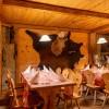 La Stalla Restaurant & Pizzeria in St. Moritz (Graubünden / Maloja / Distretto di Maloggia)]