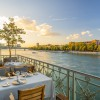 Restaurant Cheval Blanc by Peter Knogl in Basel