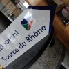 Restaurant Source du Rhone in Obergesteln (Valais / Goms)]