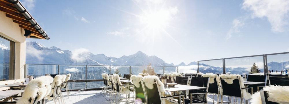Restaurants in Lenzerheide: Bergrestaurant Alp Lavoz