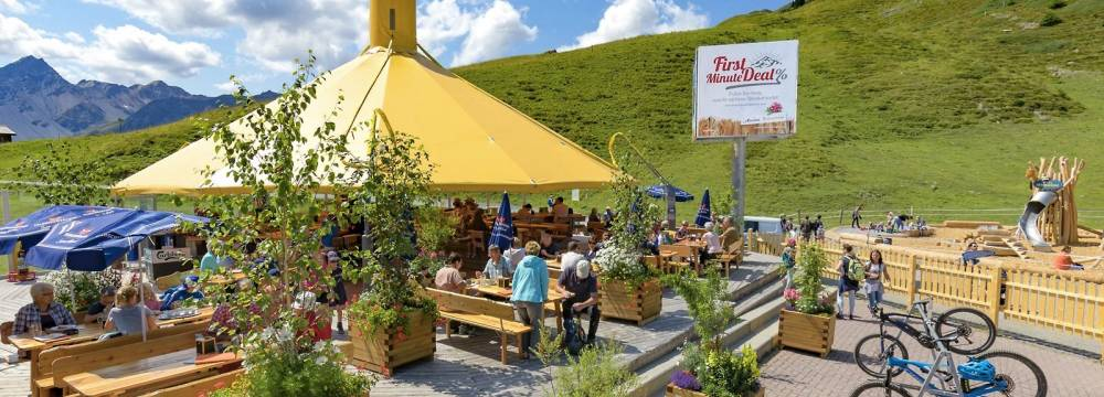 Restaurants in Arosa: Bergrestaurant Brüggerstuba