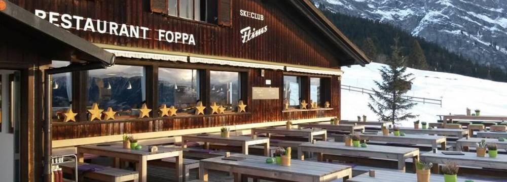 Bergrestaurant Foppa in Flims