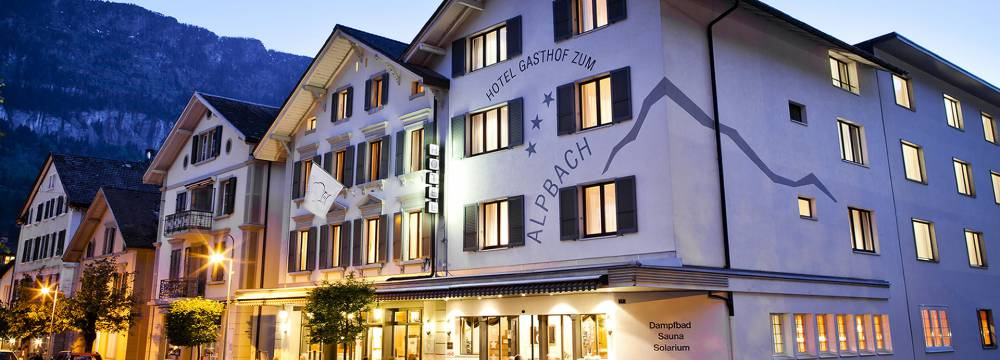 Restaurants in Meiringen: Hotel Alpbach Restaurant
