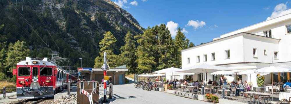 Restaurants in Pontresina: Hotel Restaurant Morteratsch