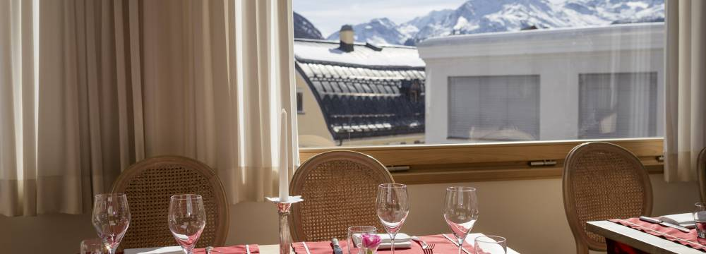 Restaurants in Samedan: Restaurant 1865