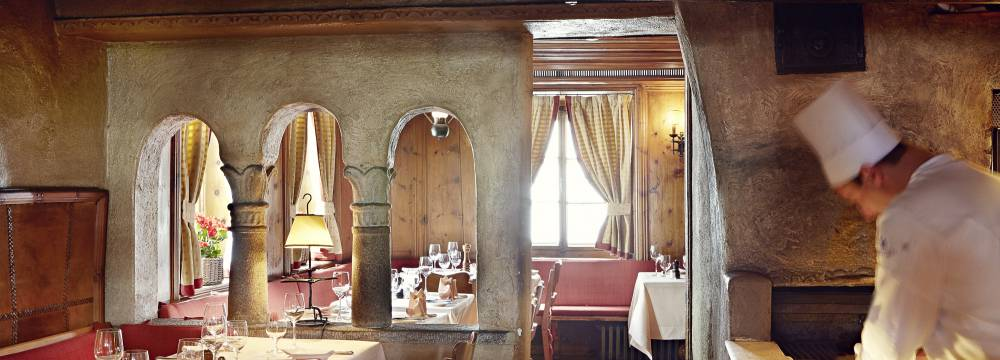Restaurants in St. Moritz: Restaurant-Bar Chesa Veglia