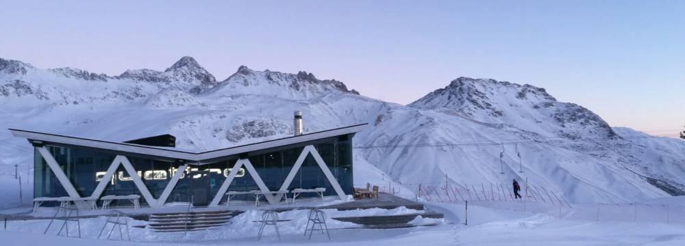 Restaurants in St. Moritz: quattro BAR