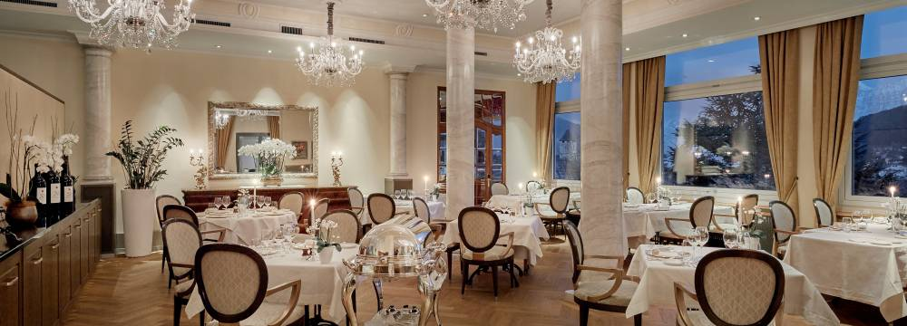 Restaurants in Spiez: Belle Epoque im Hotel Eden Spiez