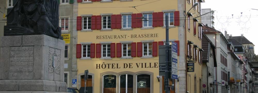 Brasserie de l Hotel de Ville in La Chaux-de-Fonds