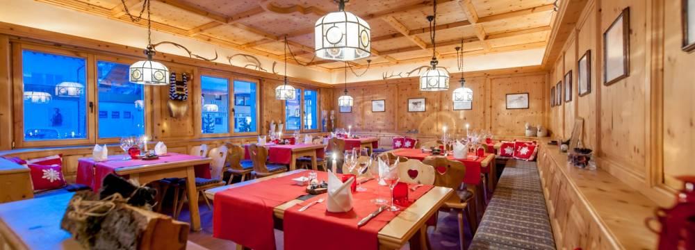 Restaurants in Samnaun Dorf: Bündner Stube