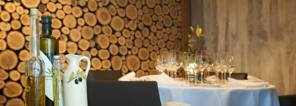 Restaurants in Celerina: Cresta Palace Giacomo s
