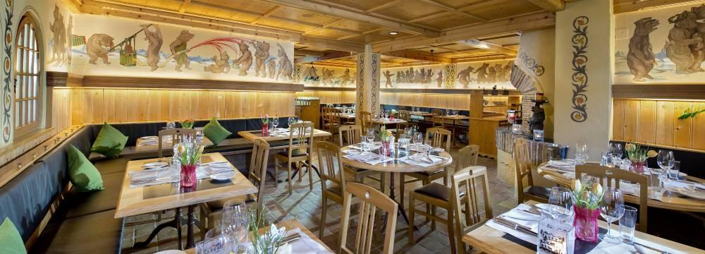 Bärengraben im Golfhotel Les Hauts de Gstaad in Saanenmöser