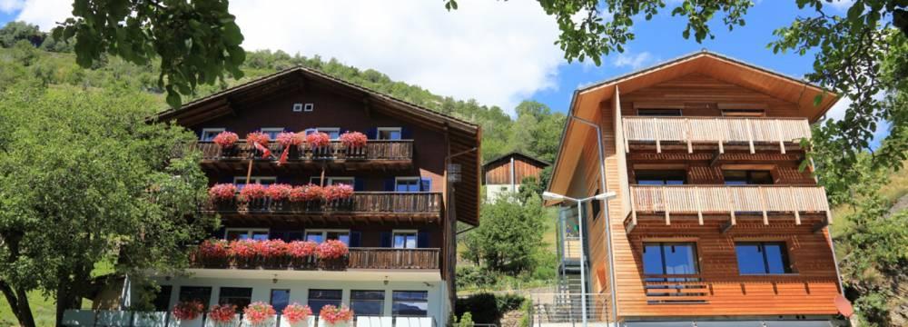 Restaurants in Ausserberg: Hotel Bahnhof Ausserberg