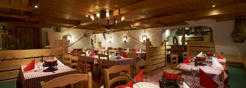 Restaurants in Grindelwald: Kellerlokal Cava, Grindelwald