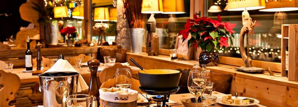 Restaurants in St. Moritz: La Stalla & Pizzeria Arte