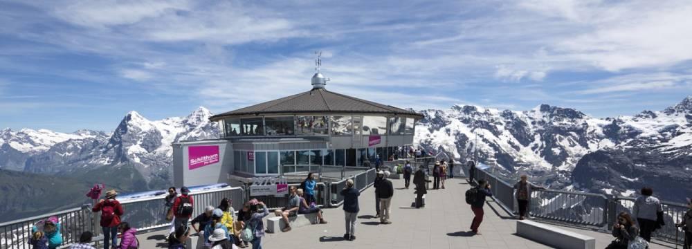360°-Restaurant Piz Gloria in Murren