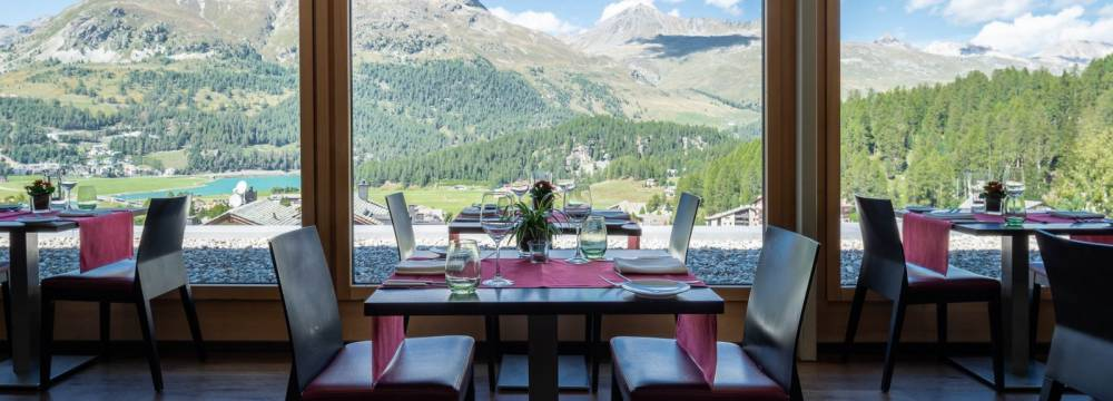 Restaurants in Silvaplana: Restaurant Stars - Nira Alpina
