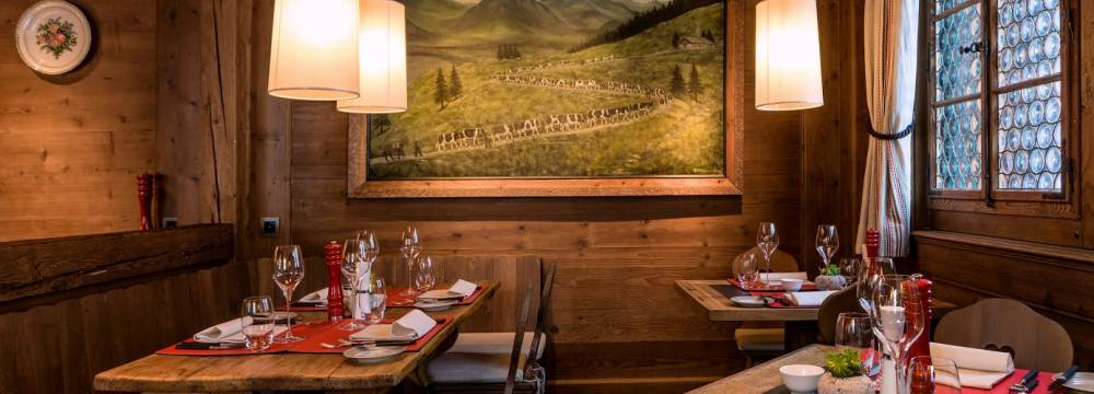 Restaurants in Saanen: Swiss Stübli - The Alpina Gstaad