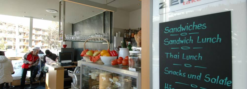 Restaurants in St. Moritz: Zeit Take-Away, St. Moritz