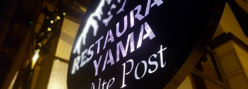 Yama Restaurant Alte Post in Davos Frauenkirch