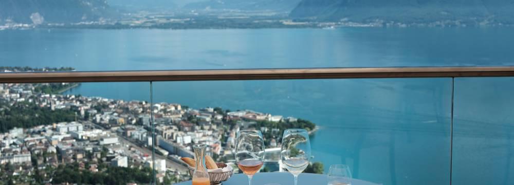 Hotel Le Mirador Restaurant in Mont Pelerin