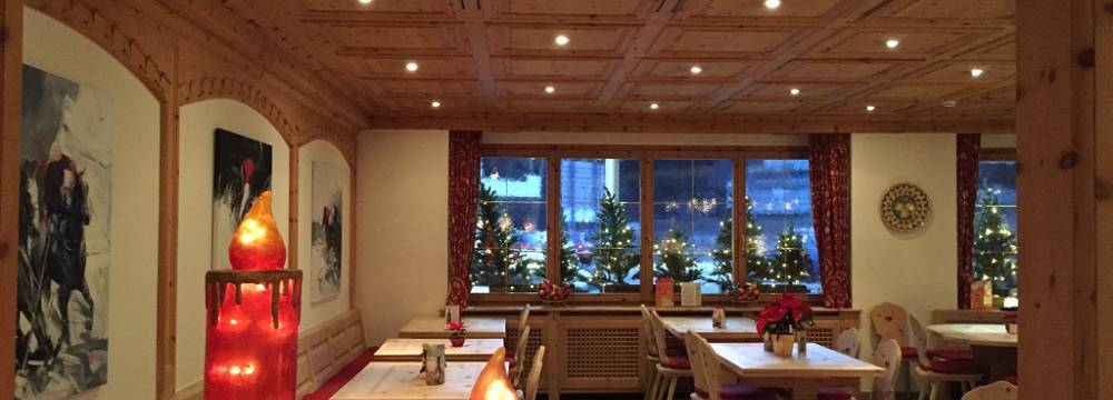 Hotel Restaurant Corvatsch in St. Moritz