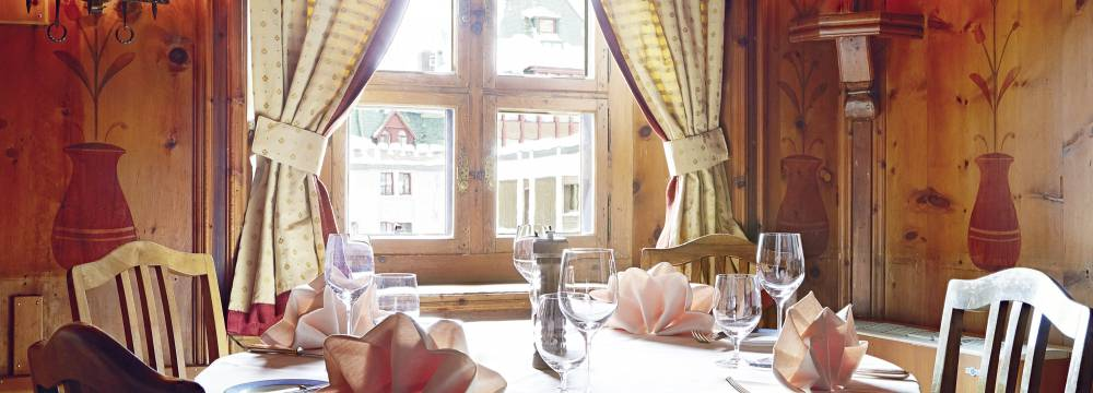 Restaurant-Bar Chesa Veglia in St. Moritz