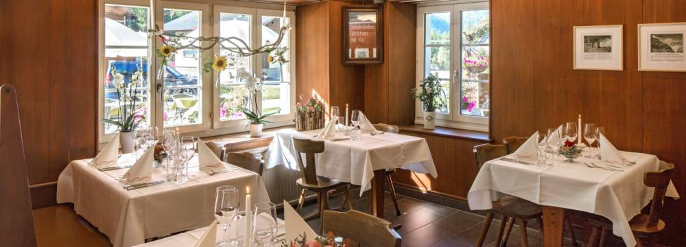 Restaurants in Blatten: Restaurant Breithorn