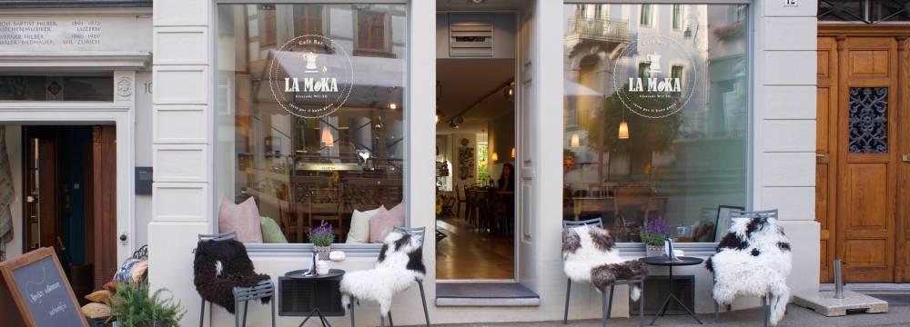Restaurant Cafe Bar La Moka in Wil