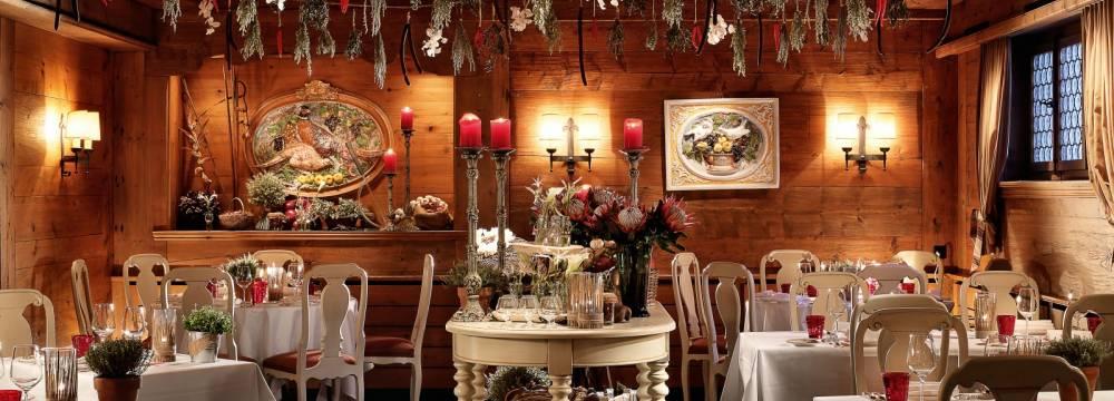 Restaurants in Gstaad: Gildo's Ristorante