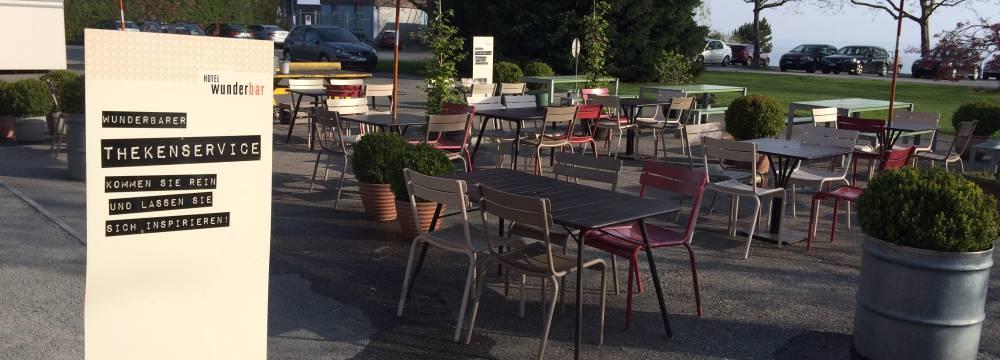 Restaurants in Arbon: Hotel Wunderbar