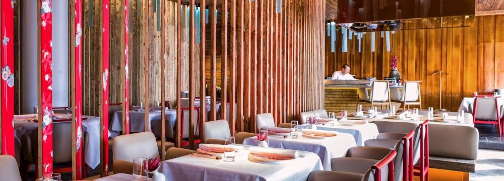Restaurants in Gstaad: Megu - The Alpina Gstaad
