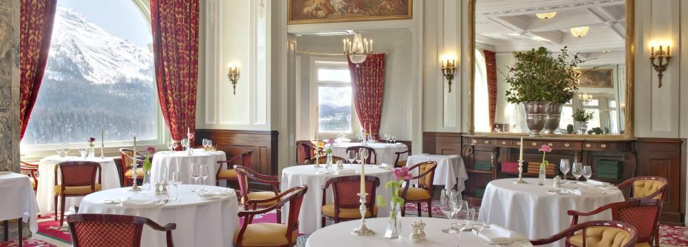 Restaurant Romanoff in St. Moritz