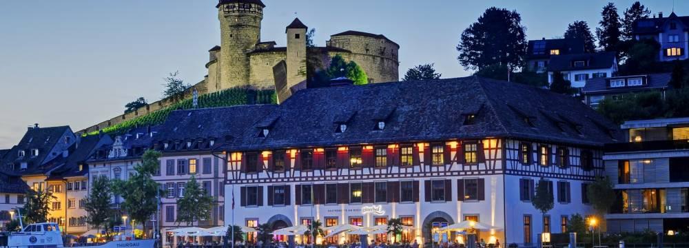 Restaurants in Schaffhausen: Güterhof - Gastronomie am Rhein