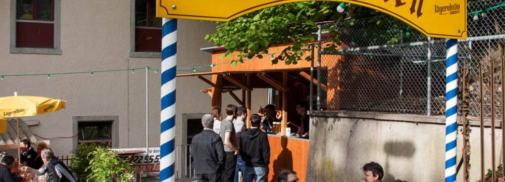 Restaurants in Wettingen: Biergarten Lägerebräu