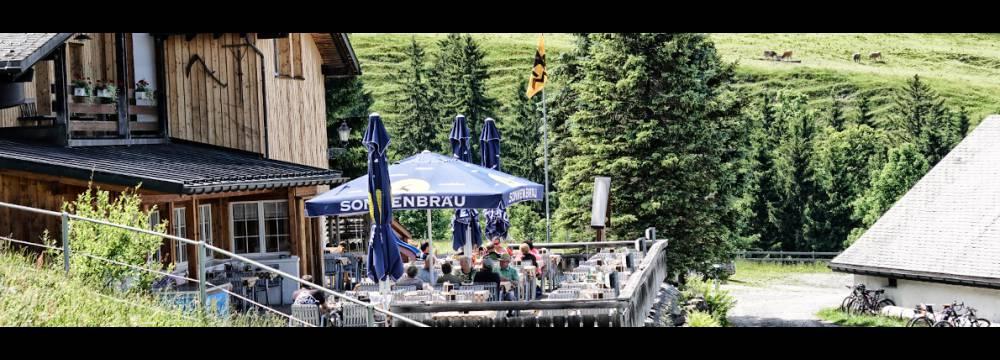 Restaurants in Oberriet: Berggasthaus Montlinger Schwamm