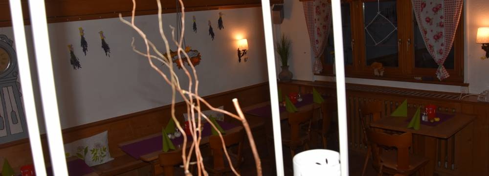 Restaurants in Klosters: Adventure Hostel Restaurant Casanna