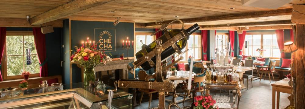 Restaurants in St. Moritz: CheCha Restaurant & Club