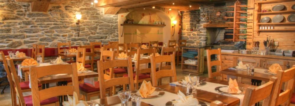 Restaurants in Saas-Fee: Fee-Chäller