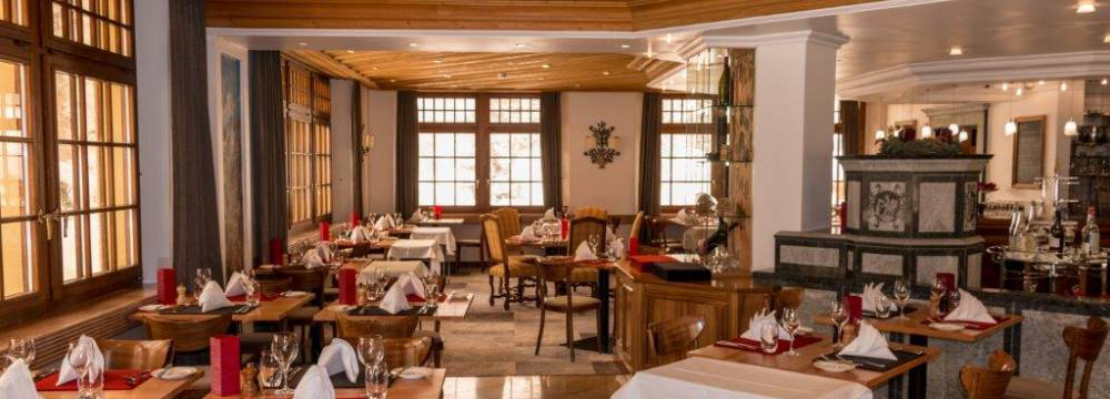 Restaurants in Leukerbad: Sacre Bon in ThermalHotels Leukerbad
