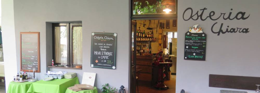 Restaurants in Locarno: Osteria Chiara