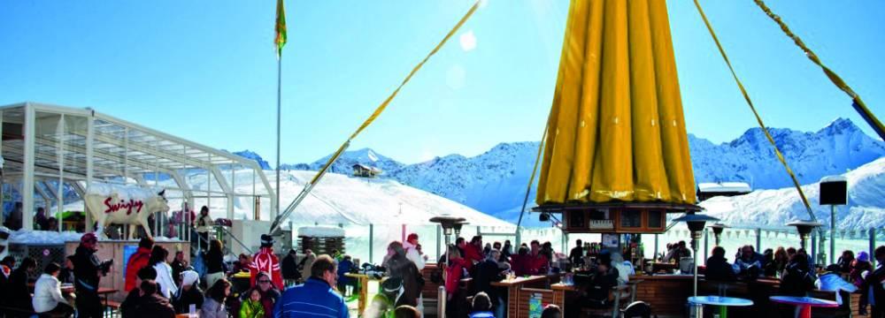 Restaurants in Arosa: Bergrestaurant Brüggerstuba