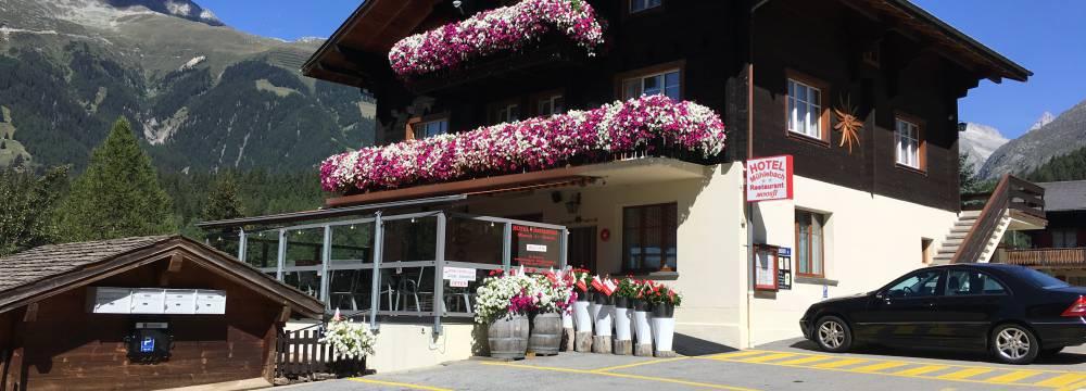 Restaurants in Ernen: Hotel Mühlebach - Restaurant Moosji