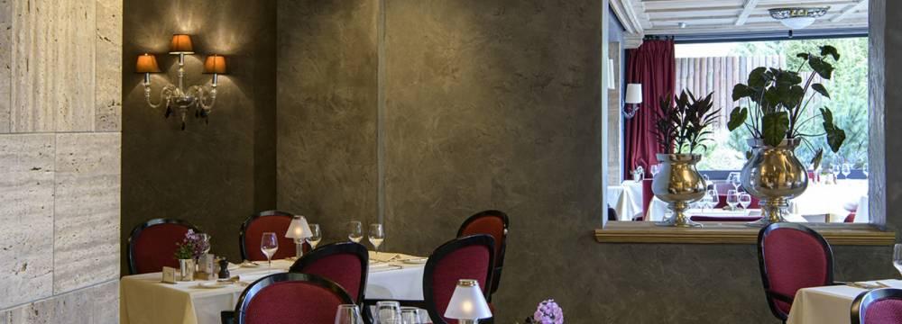 Le Grand Restaurant & La Grande Terrasse Gstaad Palace in Gstaad