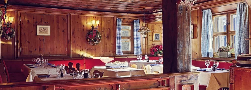 Restaurants in St. Moritz: Restaurant-Bar Chesa Veglia