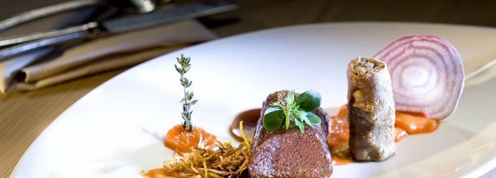 Restaurant Belle Epoque im Golfhotel Les Hauts de Gstaad & SPA in Saanenmös