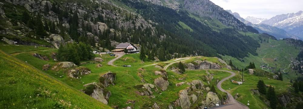 Berggasthaus Dammagletscher in Goschenen